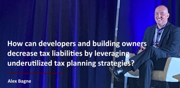 Alex Bagne real estate conference